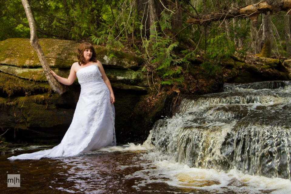 fredericton photographer, trash the dress