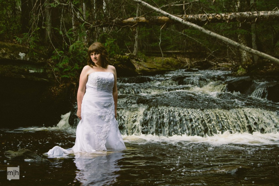 fredericton photographer, trash the dress, bride